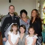Debra and her family