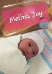 Baby Melina Joy Silvestre  Orillaza