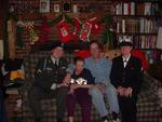 Paula was extremely proud of her military kids! John and Sarah at home and in uniform.