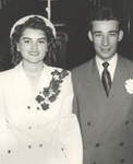 1949 Wedding Picture of Bob and Ruth