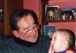 BG Keyte and Great-Grandson