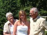 Grandma & Grandpa with Kara at Graduation