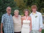 Mom, Dad with Kara and Patrick  2006
