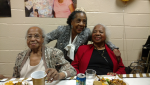Mom with sisters Edna and  Florence Sept 2018