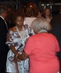 Cherelle dancing with Grandmommy