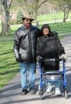 Bill Jr and Mom, Aubun, NY 2012