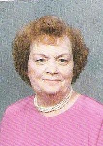 Ruby Evelyn (nee Strunk) Gudgeon